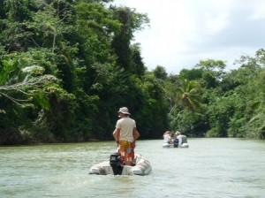 river excursion in san blas